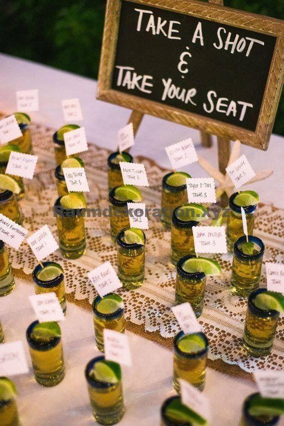 Tischdeko Hochzeit – Gastgeschenke Hochzeit – 90 tolle Ideen für Gastgeschenke bei der Hochzeit