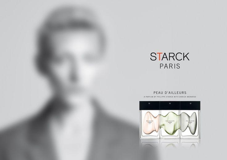 Филипп Старк представляет Starck Paris Fragrances: Peau de Soie, Peau de Pierre и Peau d'Ailleurs ~ Новые ароматы