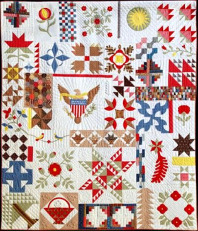 288 best Quilts-SAMPLER Quilts images on Pinterest | Crafts ... : historic quilt patterns - Adamdwight.com