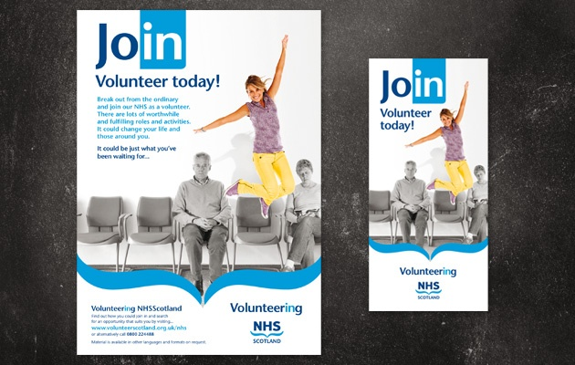 National campaign to promote Volunteering in the NHS