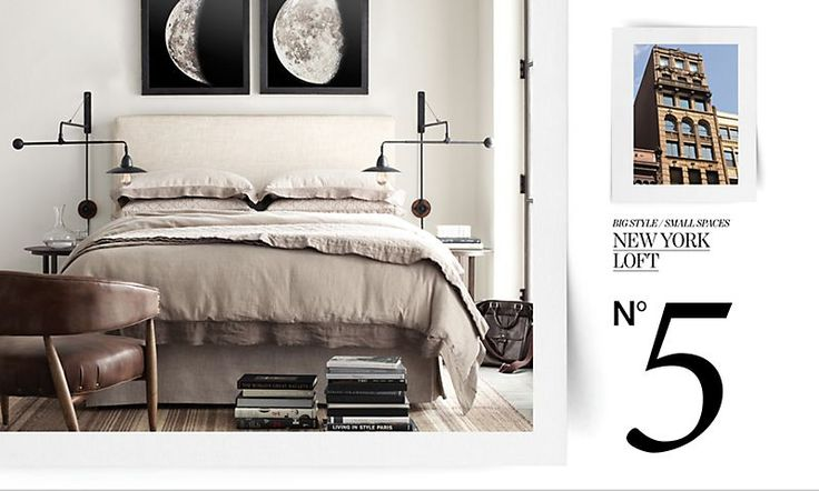 Big style small spaces restoration hardware for the home pinterest nostalgia the moon - Small spaces restoration hardware set ...
