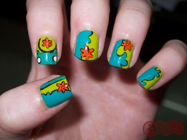 Are you a Pop Culture pro? Head on over to TheDailyNailBlog.com (or click this pin!) to try your hand at guessing this nail art inspiration!