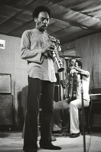 Sam Rivers and Joe Daley, NYC, July, 1976