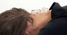 Eiswuerfel Nacken Methode