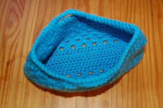 Living the Craft Life: Easy Granny-Stitch Bag - Free pattern