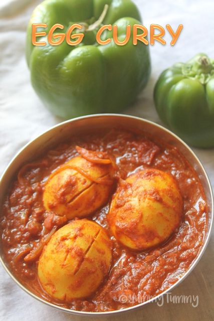 Egg curry goes great with roti, idiappam, appam and even dosa or idli. This is a simple and delicious curry which i made to go with pula...