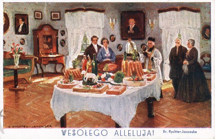 Bronisława Rychter-Janowska (1868-1953) — Wesołego Alleluja (1100x715)