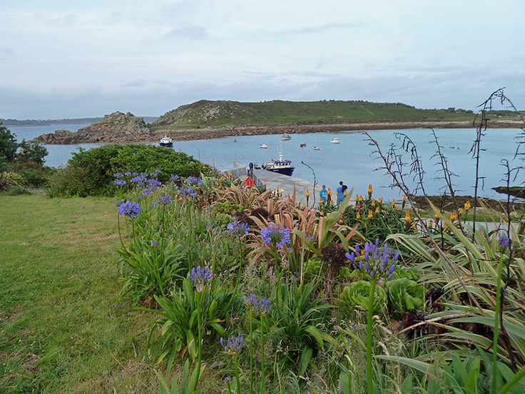 Porth Conger and Kittern Hill, Island of #Gugh in England / Scilly Islands, Cornwall.
