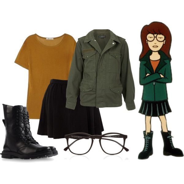I want to be Daria for Halloween. Think I can get Randy to be Trent?