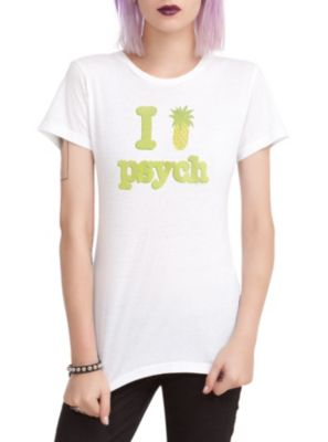Psych I (Pinapple) Psych Girls T-Shirt FINALLY!!!! Figures this shirt would be released after the series ended.