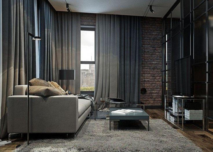 The 25+ Best Gardinen Wohnzimmer Modern Ideas On Pinterest ... Interior Design Wohnzimmer Modern