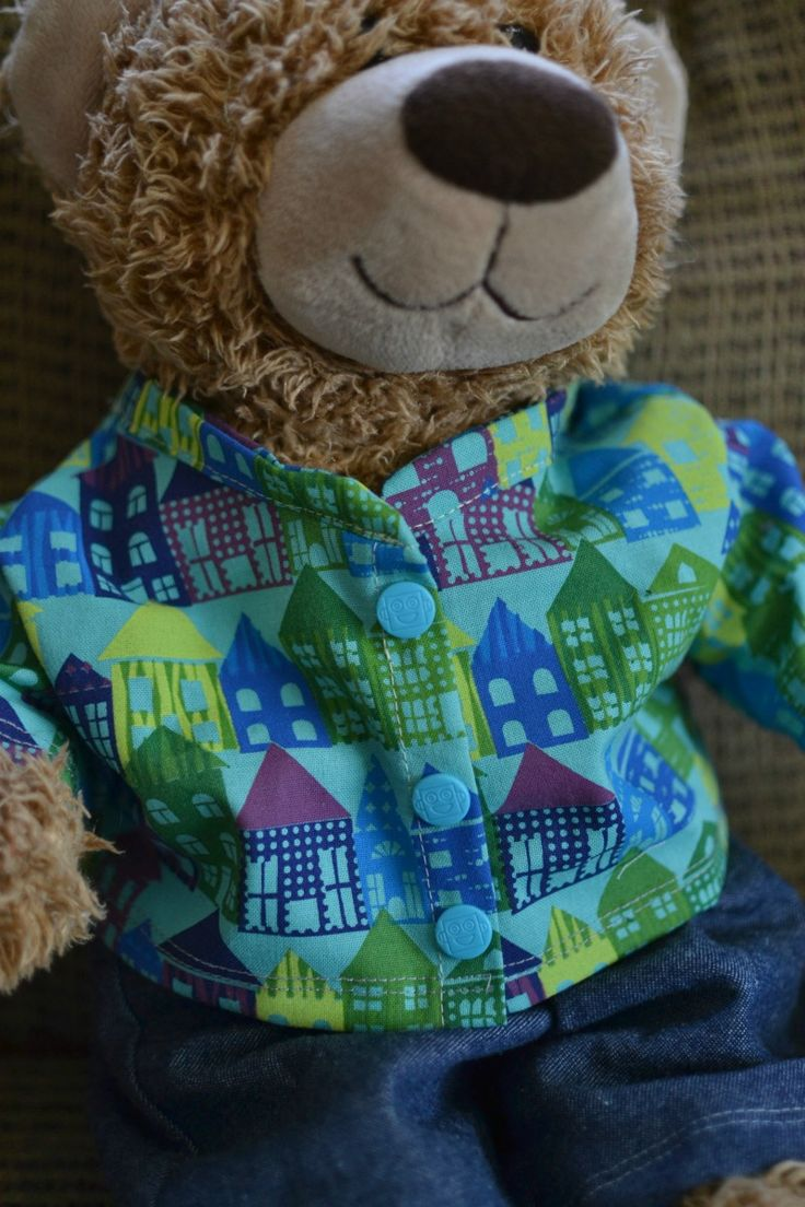 Build The Bear: Build A Bear Clothes Pattern