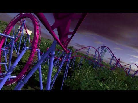 Banshee Roller Coaster POV New for 2014 Kings Island Ohio