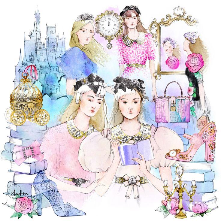 DRAW A DOT Fashion Illustration Contest Series | Atelier Antea
