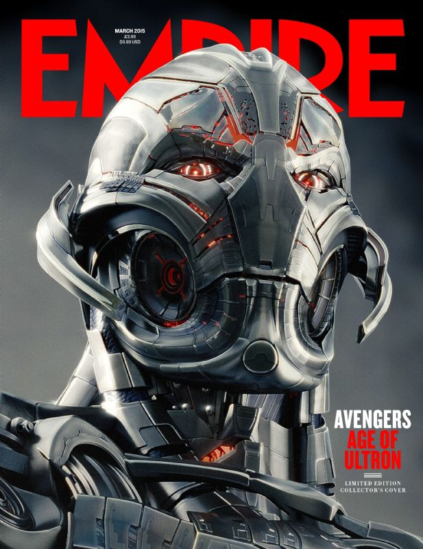 Empire's Age of Ultron covers