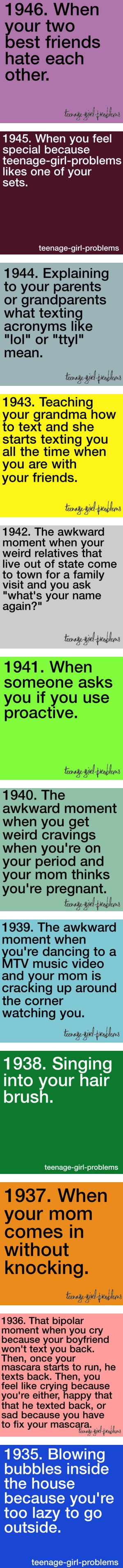 """Teenage Girl Problems 1899-1998"" by teenage-girl-problems ❤ liked on Polyvore"