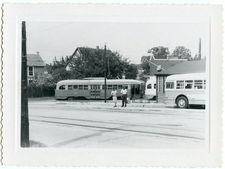 DC Transit PCCs at Mt. Rainier Terminal.