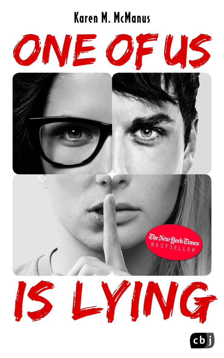 Karen McManus, One Of Us Is Lying, cbj, Cover Design: @ Suse Kopp, Hamburg