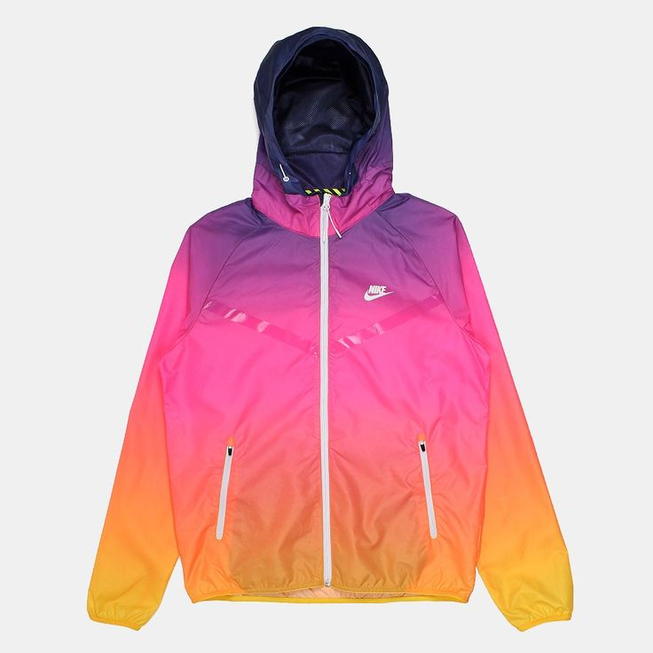 Nike RU Sunset Lightweight Windrunner Jacket - Pink Power/White