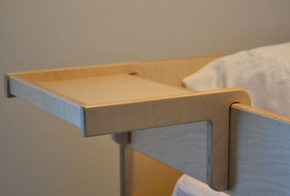 Bunk bed shelf by BetweenPosts on Etsy
