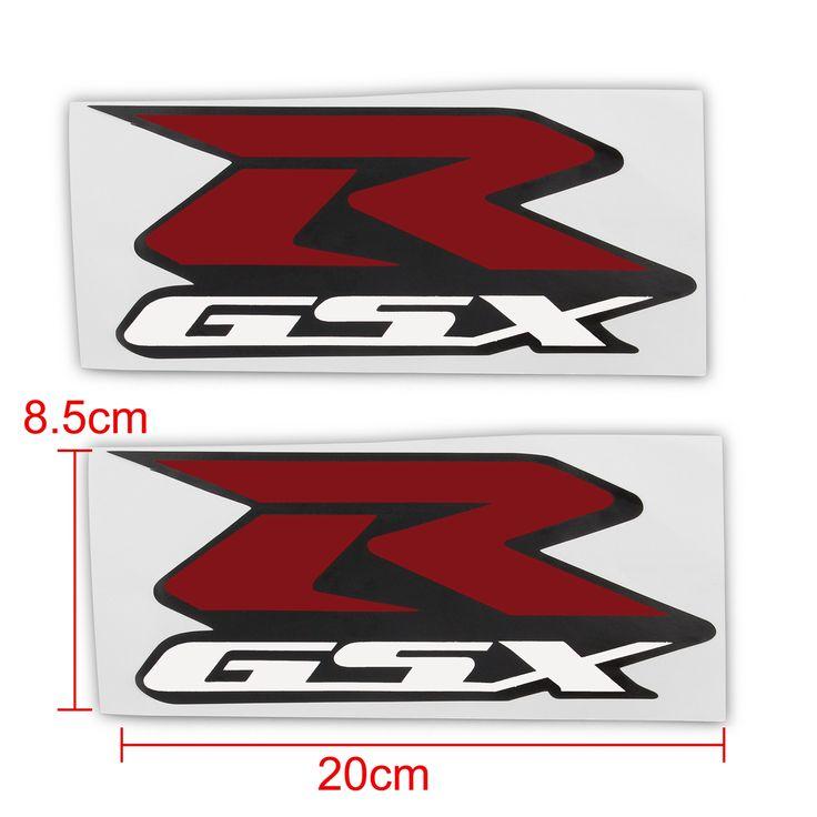 Mad Hornets - 2 pcs sticker decals emblem raise 3D Suzuki GSXR R-GSX 600 750 1000 Red, $15.99 (http://www.madhornets.com/2-pcs-sticker-decals-emblem-raise-3d-suzuki-gsxr-r-gsx-600-750-1000-red/)