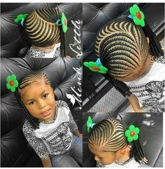 Searching for braids hairstyles for little girls? You have come to the  right place. We have compiled 20 fabulous braids hairstyles for little girls.  Check them out now! Braided hairstyles for little girls require only one thing  that is: pull hair back and away from the face. So children can have their fun  time without any fuss. This option features ever beautiful cornrows.