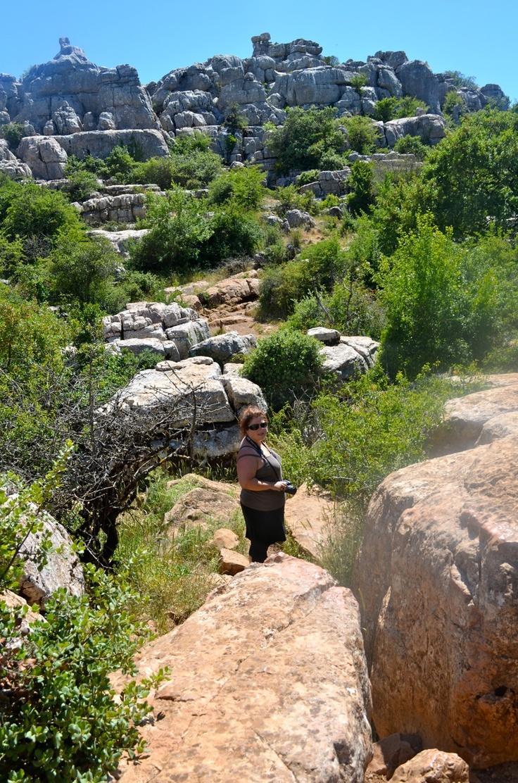 Wandelen bij El Torcal, een overweldigend natuurgebied! Ook dat kan tijdens de Verwenweek voor vrouwen bij finca Alegria de la Vida #verwondering