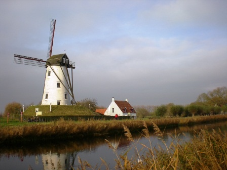 2008: Rode a bike to Sluis, Holland from Brugge, Belgium