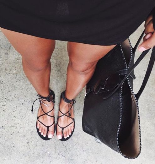 Is it summer yet? I need these sandals.