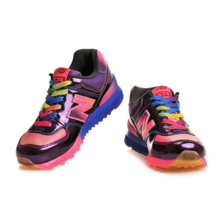 New Balance WR574 Women\u0027s Running Shoes Rainbow