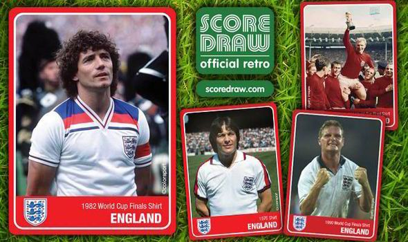 YOUR chance to win a FREE official retro England shirt before the ...