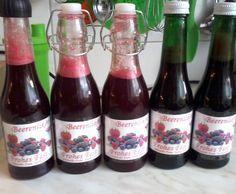 Rezept Beerenlikör von dasliebchen - Rezept der Kategorie Getränke