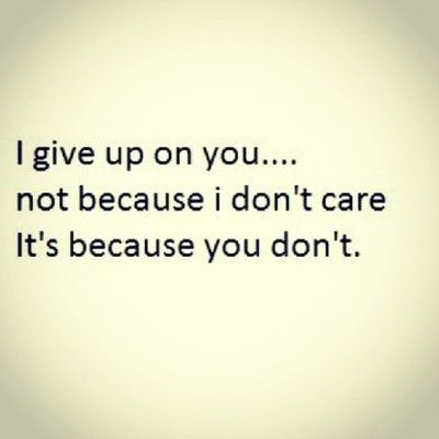 Yep and im tired of wasting all these tears on you