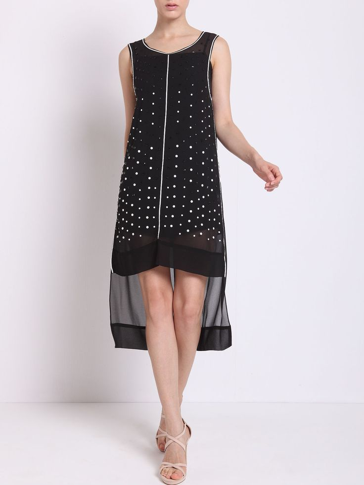 Black dress for girls to be cool