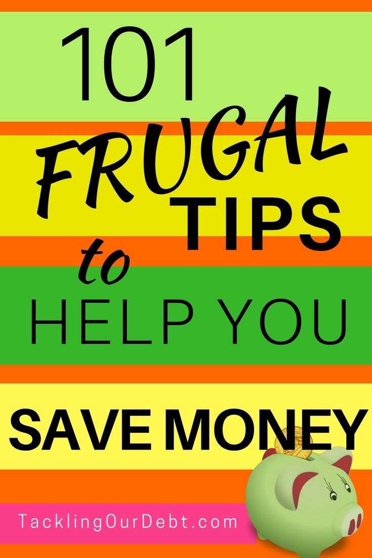 Looking for ways to save money, live frugally, and ensure you stay out of debt? Here are 101 #frugal tips that will surprise you by showing you how easy frugal living really is. You will find money saving ideas that you never thought of, and ways to manage your personal finances so that you ALWAYS have enough money. Click thru for more information! #frugalideas #frugaltips #savemoney #finances #money #frugalliving
