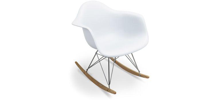 49 euro zona relax Chaise à bascule RAR Charles Eames Style - Polypropylène Matt
