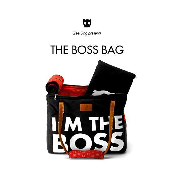 Zee.Dog | I'm the Boss Bag