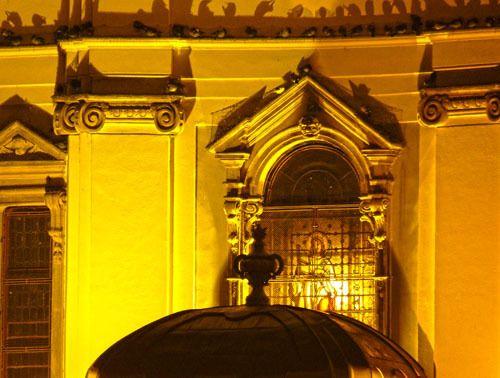 Detail - Römisch-Katholischer Dom am Vereinigungsplatz (früher Domplatz) Temeswar