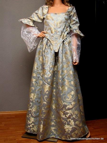 Kleid Elizabeth Swann wie aus Fluch der Karibik - Kostümverleih