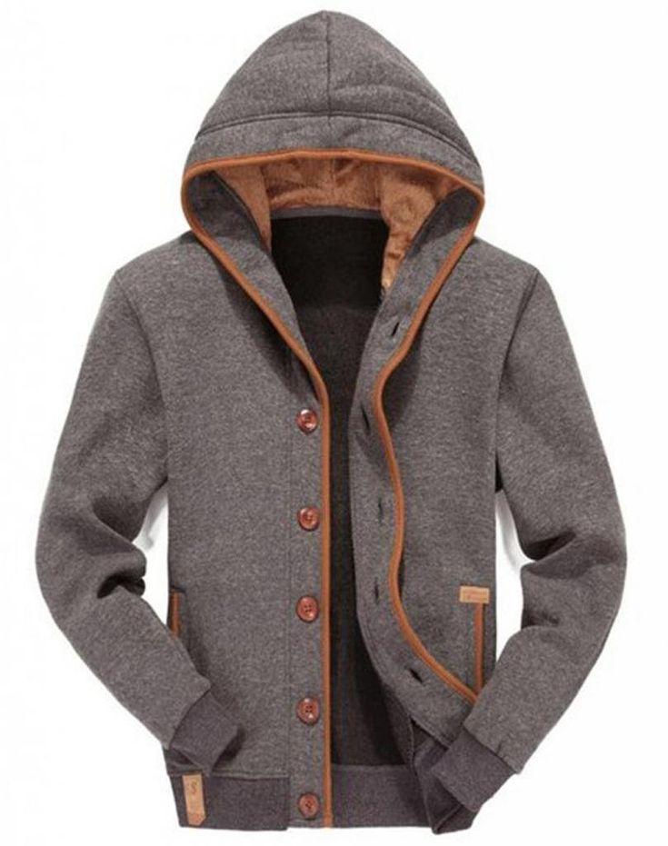 WantDo Mens Winter Fleece Jacket