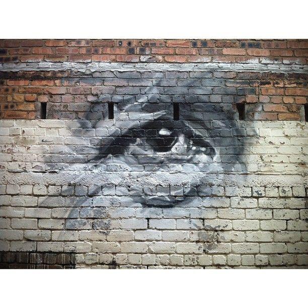 "@guidovanhelten's photo: ""More eyes in progress... Edinburgh  #streetart #graffiti #eyes #fringefestival #edinburgh"""