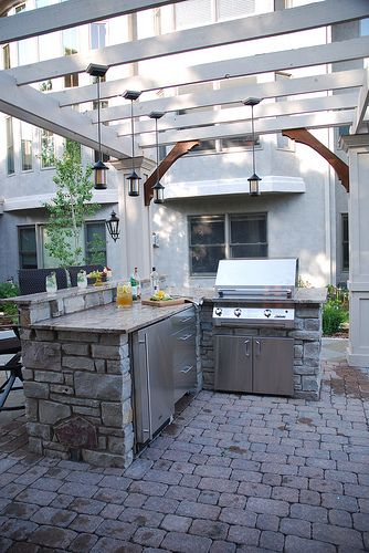 Outdoor Spaces has become an integral part of homes in Southern California. Use Quality Products and Create that Cooking Center for Yourself to Enjoy-  www.IrvineHomeBlog.com Contact me for any Inquires about the Communities and Schools around Irvine, California. Christina Khandan Your Investment Specialist #OutdoorKitchen #RealEstate #Home #Irvine.