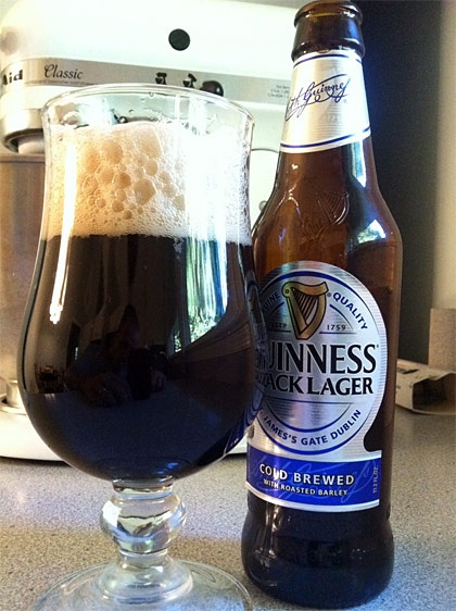 Guinness Black Lager. Had this for the first time tonight. I normally associate black beers as bitter and not as refreshing as a pale. But this was surprisingly refreshing yet maintained the distinctive Guinness taste and frothy thickness.