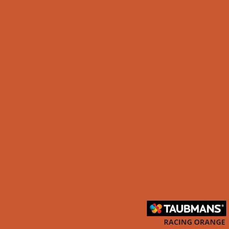 Taubmans colour Racing Orange T12 21.H3