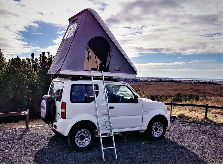 Suzuki Jimny Roof Tent - Camping Iceland