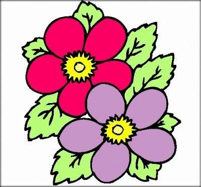 Dibujos De Flores Faciles Dibujos Para Colorear Flores Pintar Car