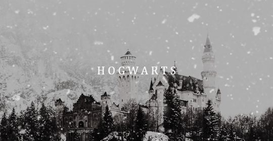 Christmas was coming. One morning in mid-December, Hogwarts woke to find itself covered in several feet of snow. The lake froze solid and the Weasley twins were punished for bewitching several snowballs so that they followed Quirrell around, bouncing off the back of his turban. gif