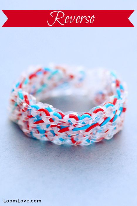 How to Make the Rainbow Loom Reverso #rainbowloom