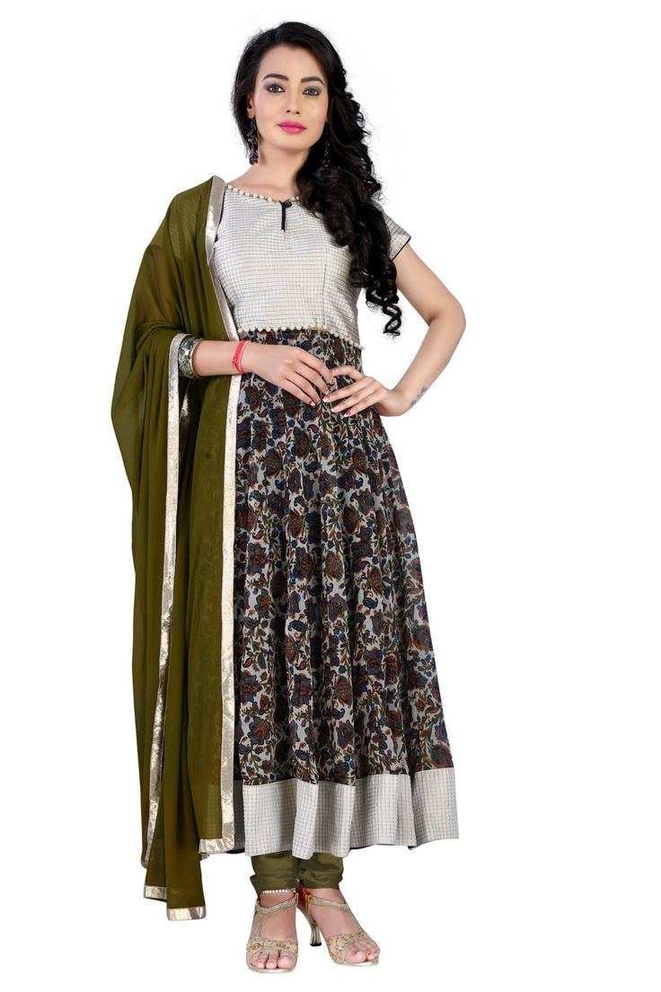 New Arrival Printed Georgette Anarkali Dress Collection By TheEmpireHub by TheEmpirehub on Etsy