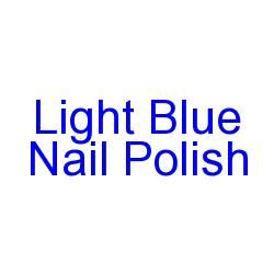 Light Blue Nail Polish For Spring: http://www.popularmakeup.com/a/light-blue-nail-polish-for-spring.html